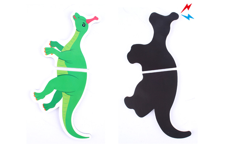 [Magnetopia] Magnetic Funny Puzzle Dinosaurs